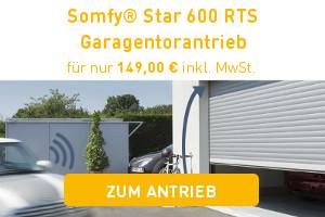 Somfy Star 600 RTS Garagentorantrieb